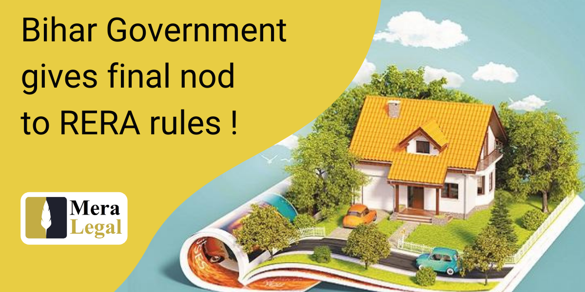 Bihar Government gives final nod to RERA rules